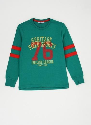 Fresh Company Sweatshirt Yeşil